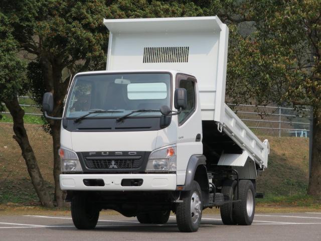 三菱ふそう 2.6t 4WD 高床強化ダンプ