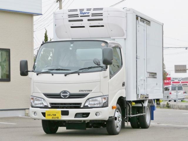 日野 2t 全低床 冷蔵冷凍車