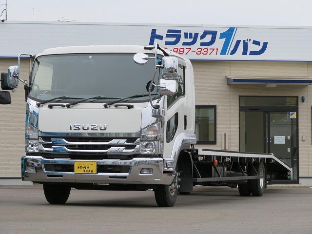 いすゞ 3.3t ワイド 2台積キャリアカー