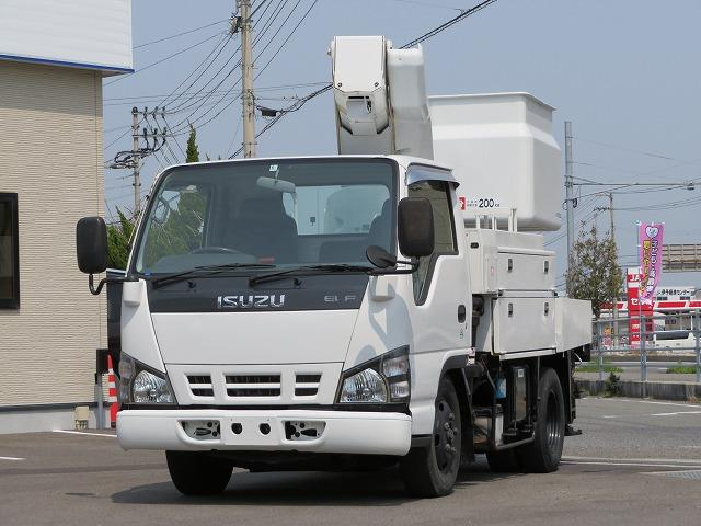 いすゞ 9.7m 高所作業車