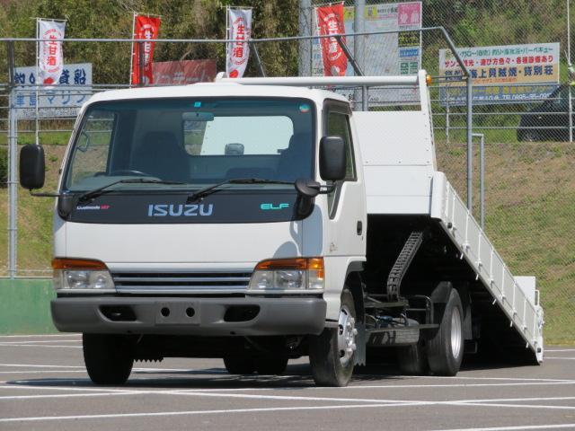 いすゞ 3.5t ワイド 超ロング セルフローダー