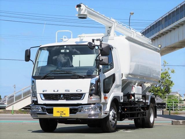 三菱ふそう 7t 増トン 飼料運搬車