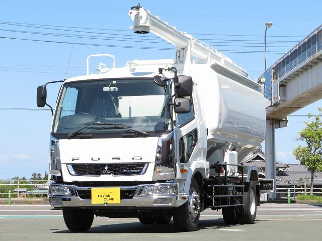 三菱ふそう 7.15t 増トン 飼料運搬車