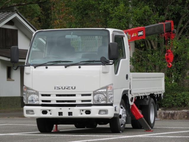 いすゞ 1.9t 荷台3段クレーン