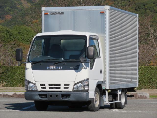 いすゞ エルフトラック 1.5t 低床 10尺 ドライバン