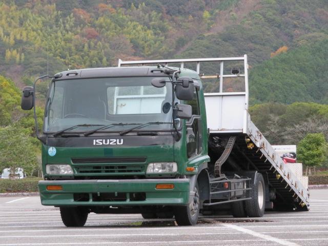 いすゞ 6.4t 増トンワイド セルフローダー