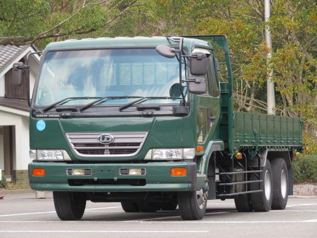UDトラックス 11.6t 増トンワイド 低床2デフ 平ボディー
