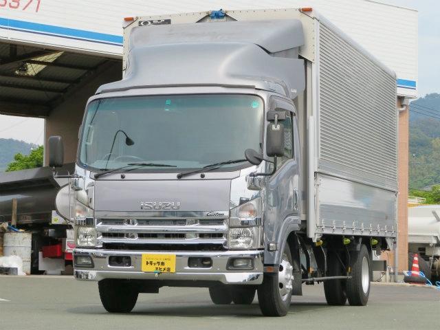 いすゞ エルフトラック 3t ワイド超ロング アルミウイング