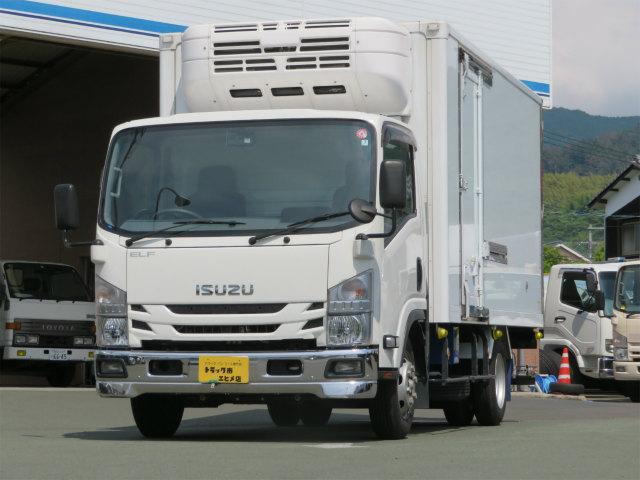 いすゞ エルフトラック 3t ワイドロング 冷凍車 パワーゲート
