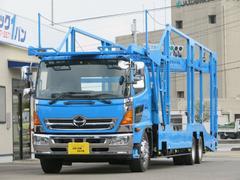 トラック1バン 働くトラックの在庫200台揃ってます!! ヒノレンジャー 8.6t 増トン 5台積キャリアカー 低床2デフ