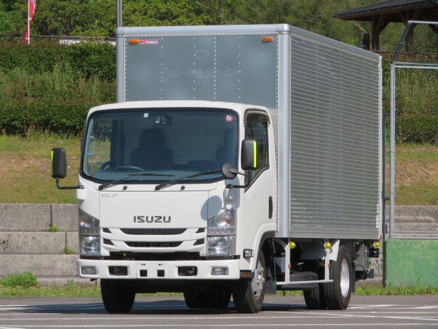 いすゞ エルフトラック 2.95t ロング ドライバン パワーゲート