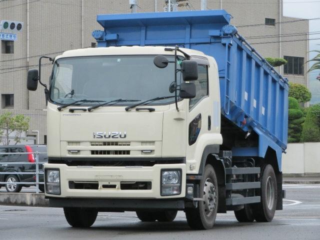 いすゞ 7.3t 増トン土砂禁ダンプ