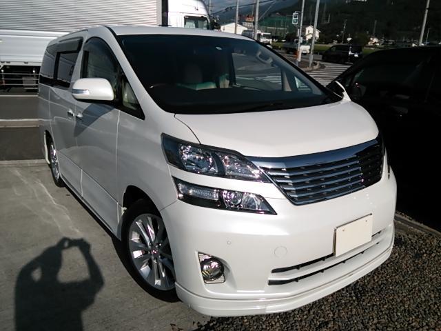 トヨタ 3.5V Lエディション サンルーフ 本革シート 両パワスラ
