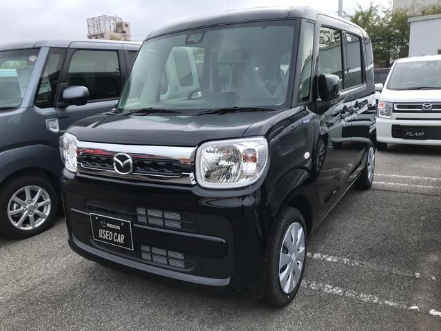 マツダ 660 ハイブリッドXS ナビ 軽自動車 インパネCVT