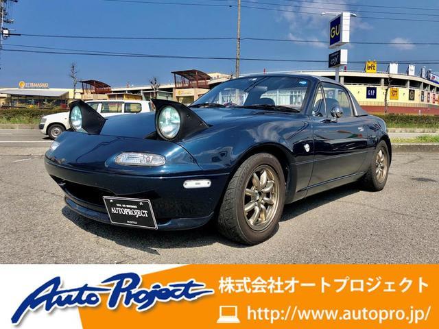 ユーノス B2リミテッド/1000台限定車/幌張替え済/ドラレコ