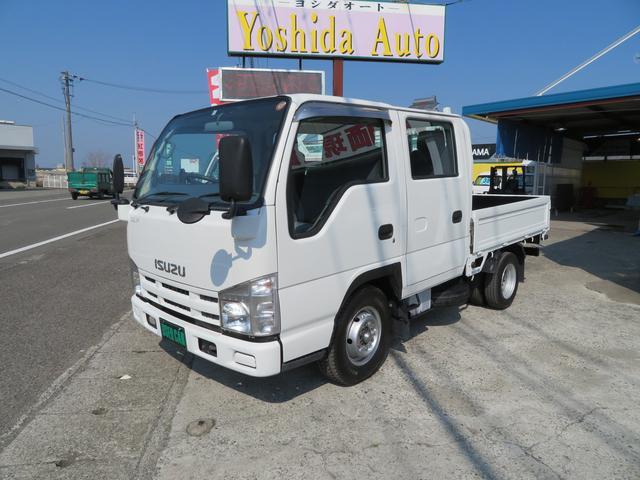 いすゞ エルフトラック 3.0D 1.5t Wキャブ (車検整備付)