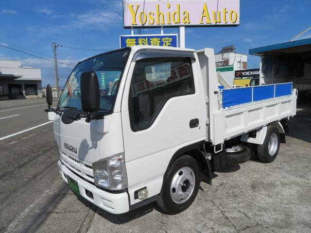 いすゞ エルフトラック 強化ダンプ 3.0D 3tダンプ