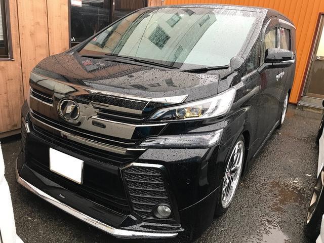 トヨタ 2.5Z Aエディション ゴールデンアイズ 純正ナビ