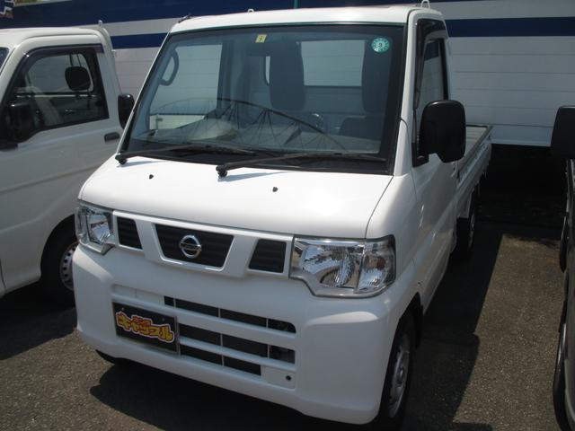 日産 NT100クリッパートラック DX 4WD 5MT エアコン パワステ