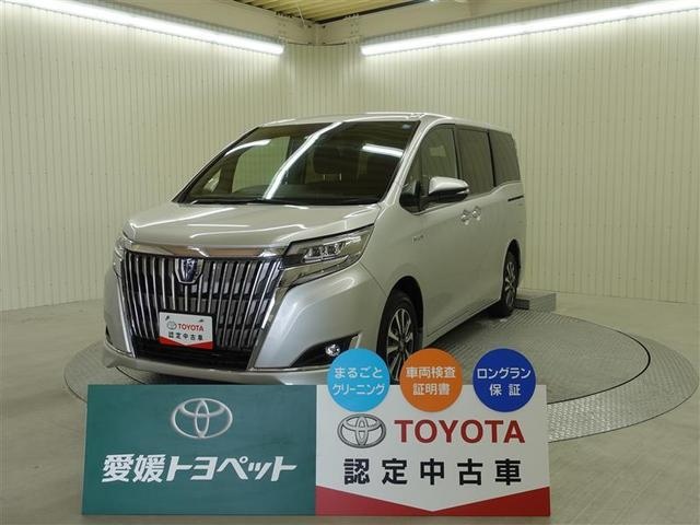トヨタ エスクァイア ハイブリッドXi クルーズコントロール イモビライザー CD