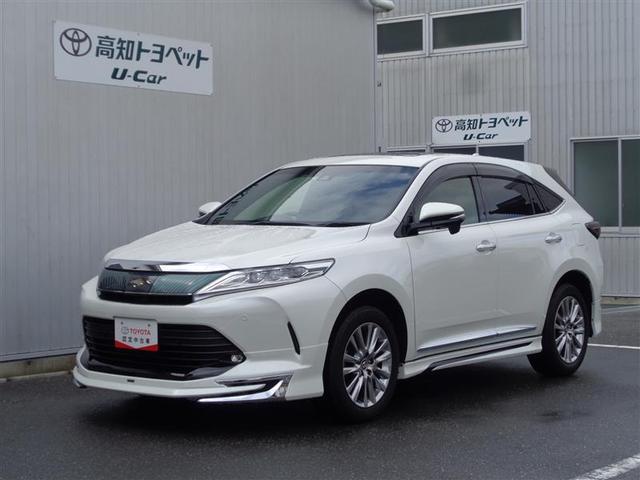 トヨタ ハリアー プレミアム バックモニター メモリーナビ エアロ ETC