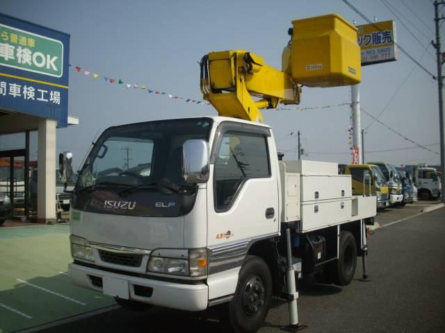いすゞ タダノAT110高所作業車