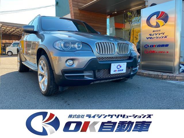 BMW X5 3.0si レザーシート  HDDナビ バックカメラ