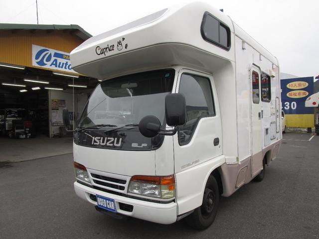 いすゞ エルフトラック キャンピング neo カプリス