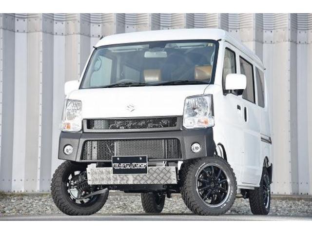 スズキ ジョイン  4WD リフトアップ ナビ サイドバックカメラ