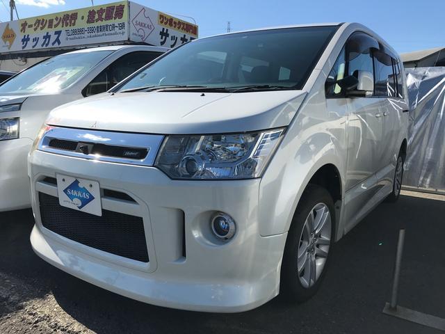 三菱 ローデスト G ナビパッケージ ナビ AW ETC SUV