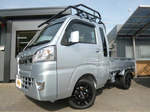 ダイハツ ジャンボSAIIIt ハードカーゴパーツ オートマ 衝突軽減ブレーキ 14新品アルミ&タイヤ LEDライト 作業灯