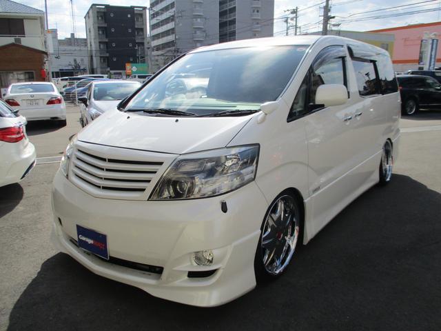 トヨタ AS リミテッド 車高調 ワーク20インチ 両パワードア