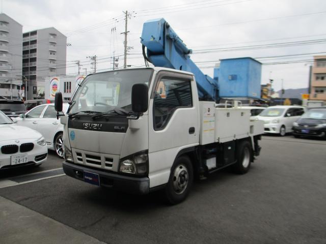 いすゞ エルフトラック 高所作業車 エスマック製 バックカメラ ETC 鑑定済