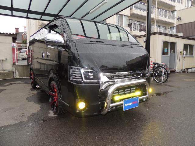 トヨタ ハイエースバン スーパーGL ダークプライムII カスタム車両
