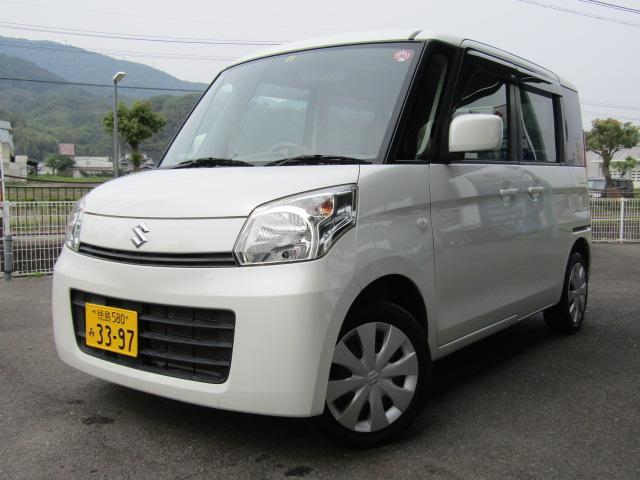 「スズキ」「スペーシア」「コンパクトカー」「徳島県」の中古車