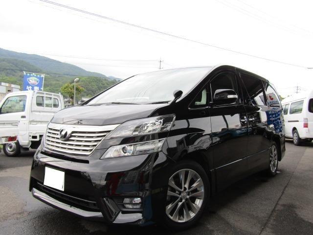 「トヨタ」「ヴェルファイア」「ミニバン・ワンボックス」「徳島県」の中古車