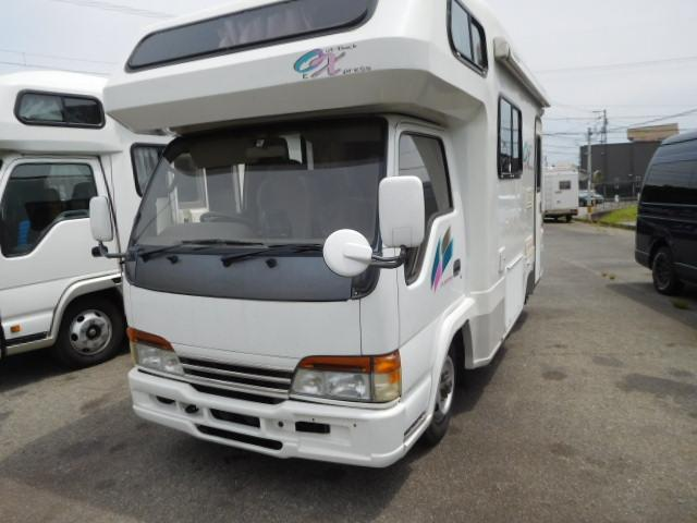 いすゞ エルフトラック  キャンピング YMS オックス 4WD/5F