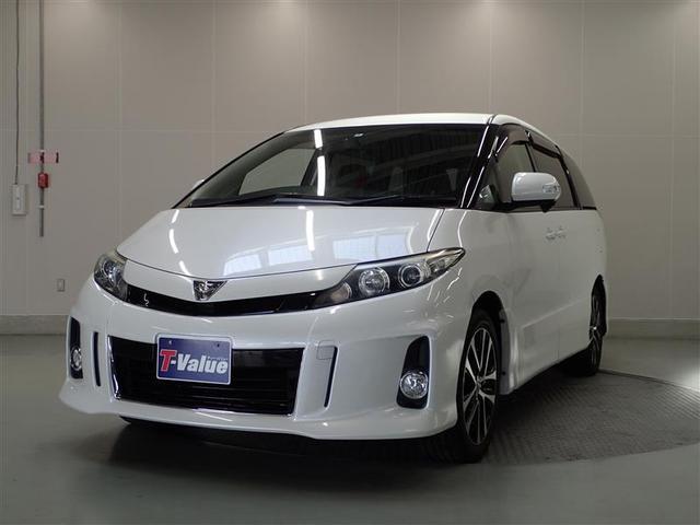 トヨタ アエラス HDDナビ フルセグ バックモニター 純正アルミ