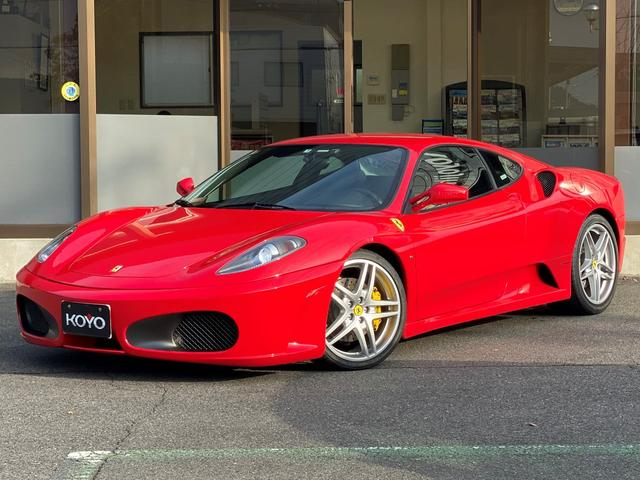 フェラーリ F1 フロントロベルタリフト 黒革 正規ディーラー車 ナビ