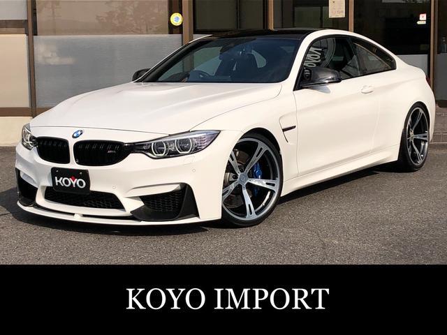 BMW M4 M4クーペ MパフォーマンスエアロダイナミクスPKG Mパフォーマンスカーボンミラー&トランクスポイラー&リアディフューザー JRZ車高調 ACシュニッツァー20AW カーボンファイバーインテリアトリム