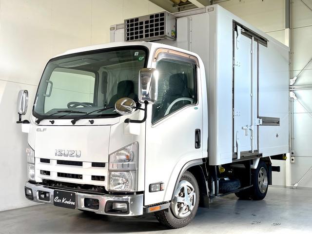 いすゞ エルフトラック  東プレ冷蔵冷凍車 サイドドア ETC
