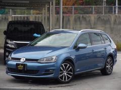 VW ゴルフヴァリアントRラインブルーモーションテクノロジー LED フルセグTV