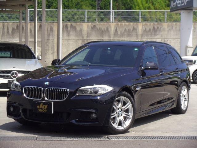 BMW 523iツーリング Mスポーツパッケージ 純正HDDマルチ
