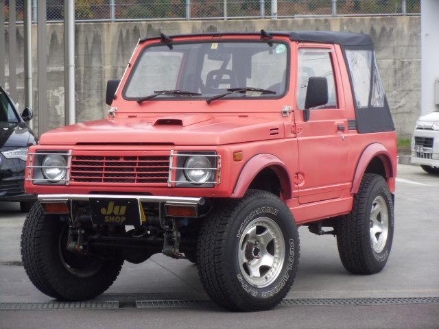 スズキ フルメタルドアCC フロントストレートバンパー 4WD