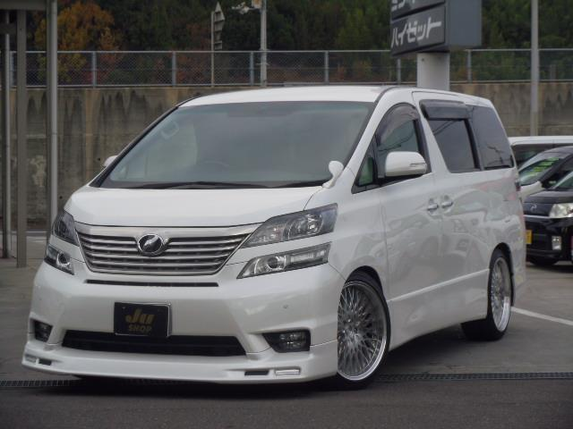 トヨタ 2.4Z ローダウン HDDナビTV ETC 後席モニター