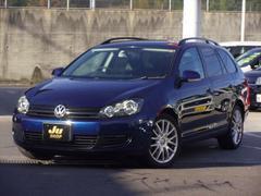 VW ゴルフヴァリアントTSI トレンドライン ルーフレール HDDナビ ETC