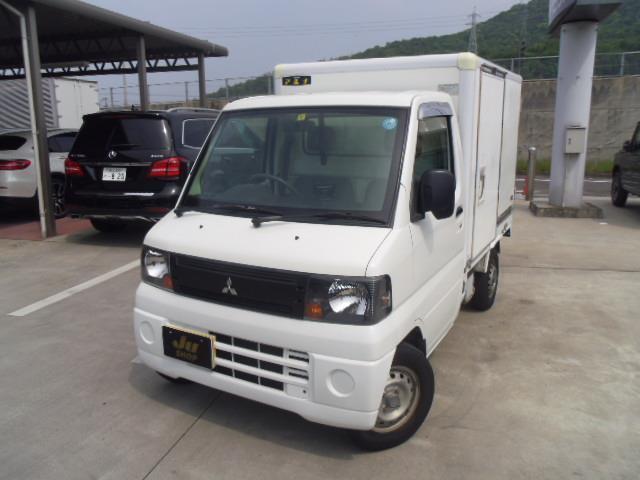 三菱 Vタイプ バックカメラ 5MT エアコン付き 冷凍冷蔵車