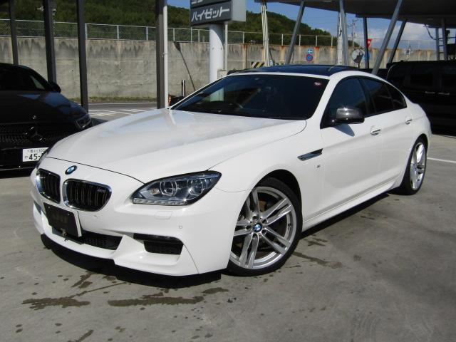 BMW 6シリーズ 640iグランクーペ 純正HDDナビ 黒革シート サンルーフ パワーシート ミラー一体型ETC クルーズコントロール バックカメラ LEDヘッドライト Mスポーツパッケージ
