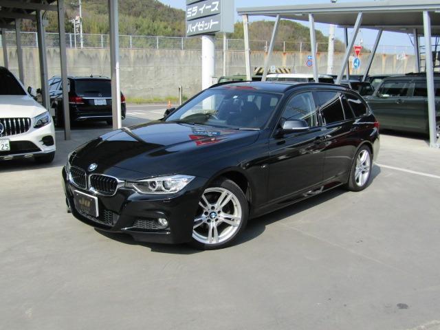 BMW 320dブルーパフォーマンス ツーリング Mスポーツ ワンオーナー+PWバックドア+スマートキー+ETCPWメモリーシート+純正ナビ+障害物センサー+アイドリングストップ