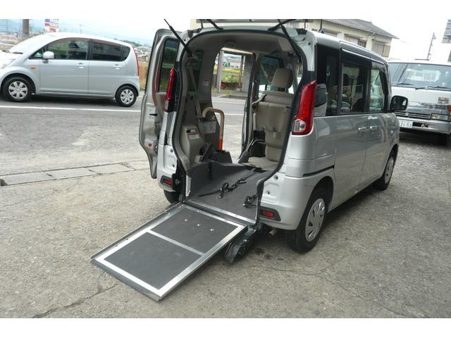 スズキ スローパー 福祉車両 車椅子固定装置